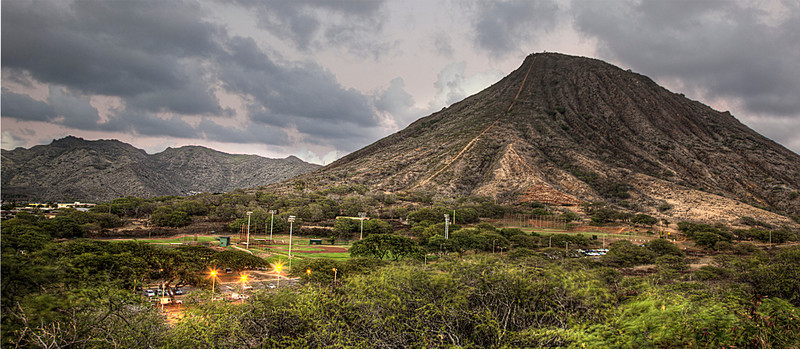 KoKo Head at Sunset in Oahu
