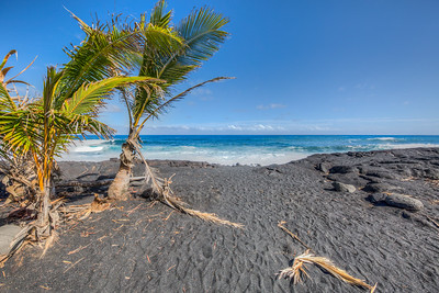 Kaimu Beach Park, BIg Island, Hawaii, USA