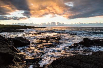Halapē Hawaii Sunrise