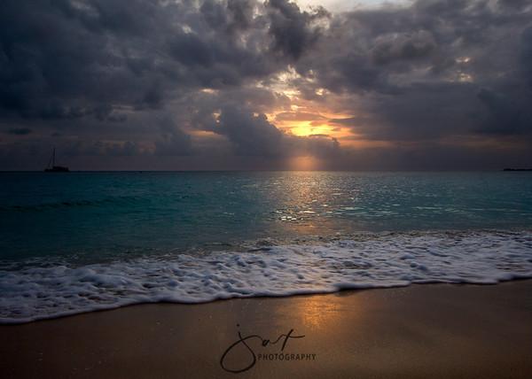 Seven-mile Sunset