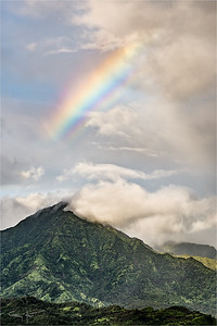 Mountain Rainbow, Kauai, Hawaii