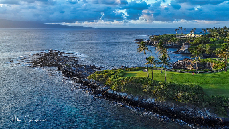 Kapalua Point at Dusk