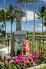 Grave of Father Damien, Kalawao, Molokai, Hawaii