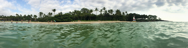 Panorama captured on an iPhone5s using an Otterbox case that's waterproof. yes, I was in the Pacific Ocean when I shot this.