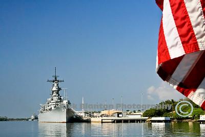 USS Missouri, Pearl Habor