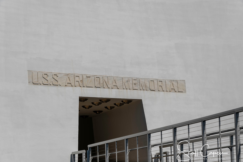 Entrance to the Arizona Memorial