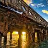 Mala Wharf Sunset