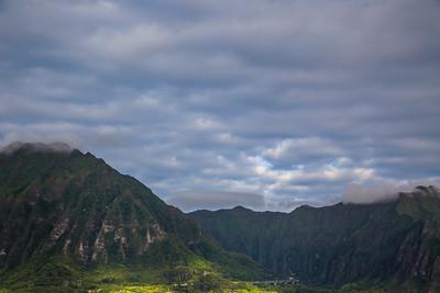 Koolau Mountain Range