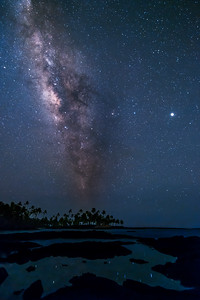 Milky Way Honaunau Bay