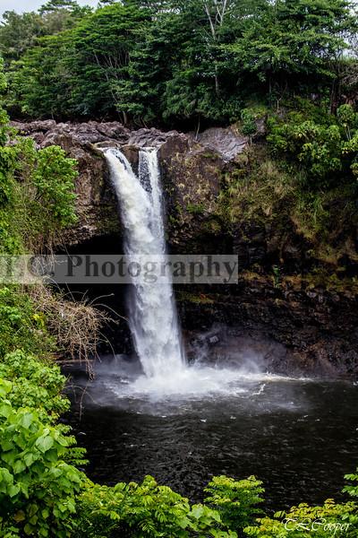 Rainbow Falls II on Hawaii, HI