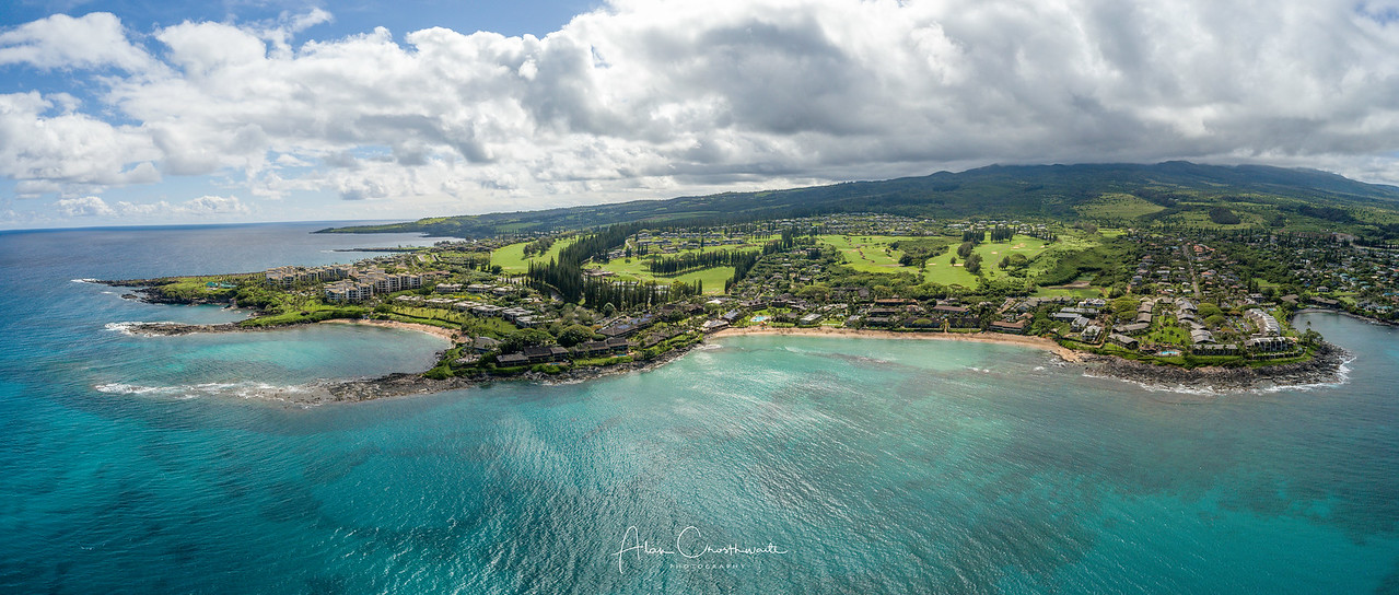 Napili Bay and Kapalua Bay, Maui, Hawail