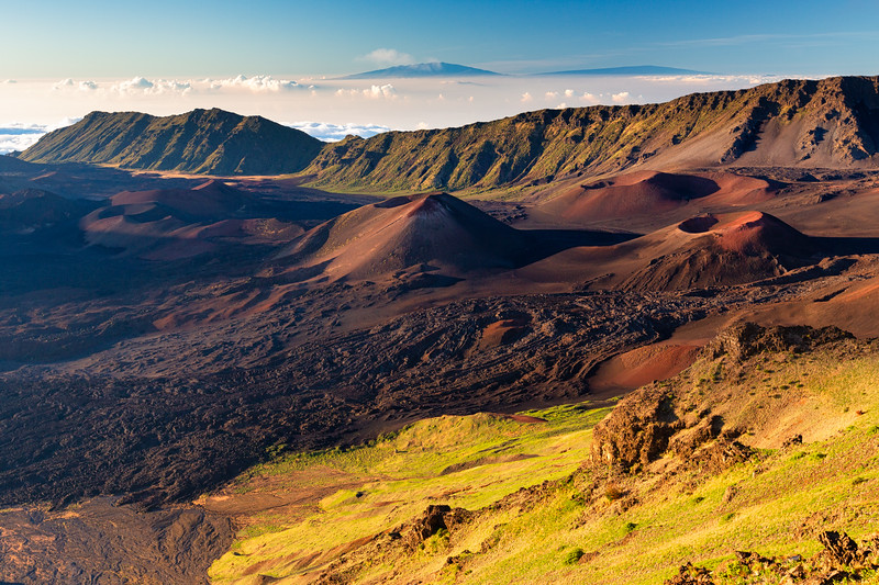 Haleakalā & The Maunas.
