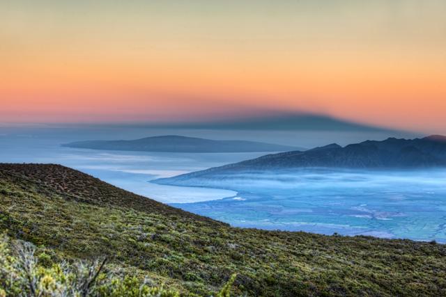 View from Haleakala, Hawaii