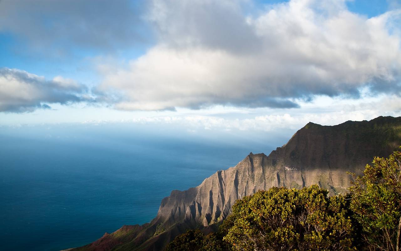 Above the Kalalau Valley
