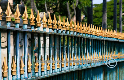 Fence around the Royal Palace