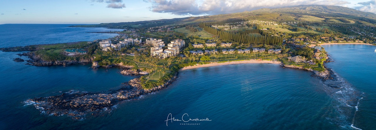 Kapalua Panoramic at dusk