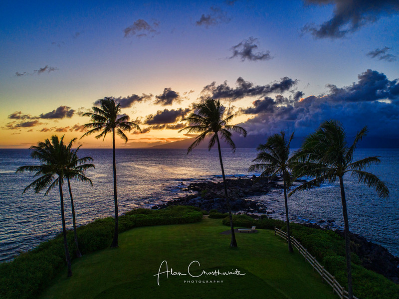 Sunset at Kapalua #2