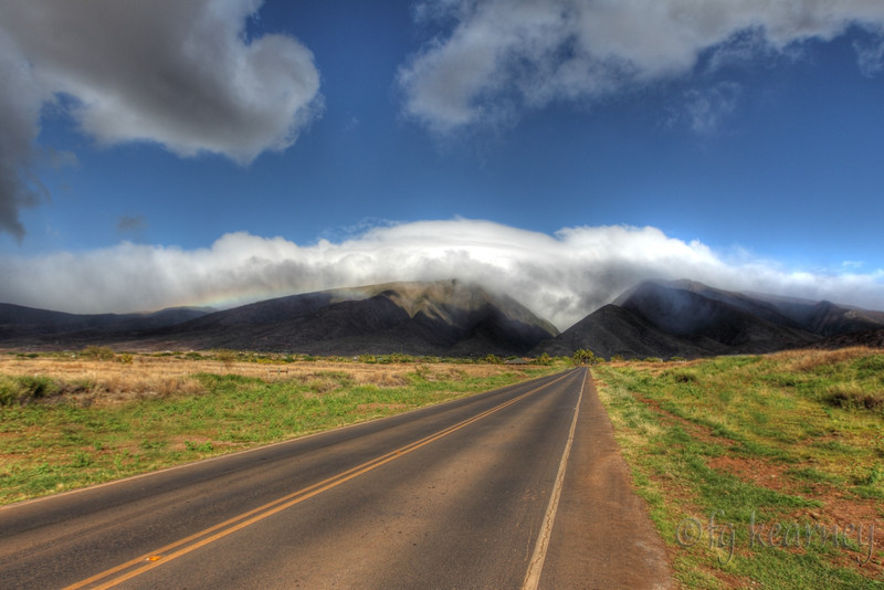 West Maui Mountains from Lahaina
