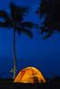 Camping, Ha'ena Beach, Kauai