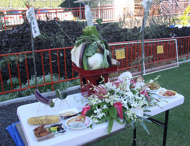 Table with Offerings