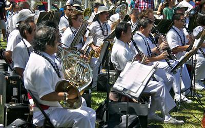 Royal Hawaiian Band Performing