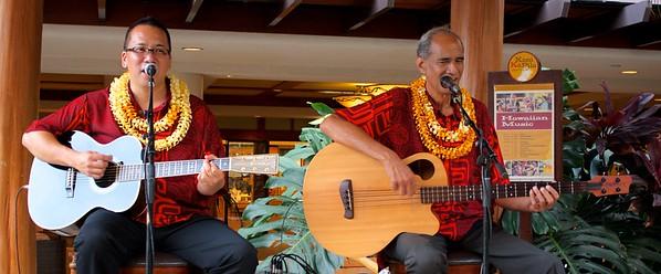 Hoku Zuttermeister and Dwight Kanae