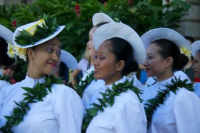 Hula Dancers Share a Story