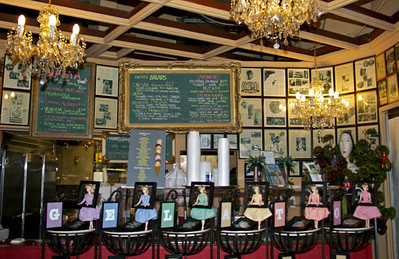 Gelato Barbies and Menus