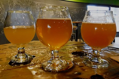 Three Different Craft Brews