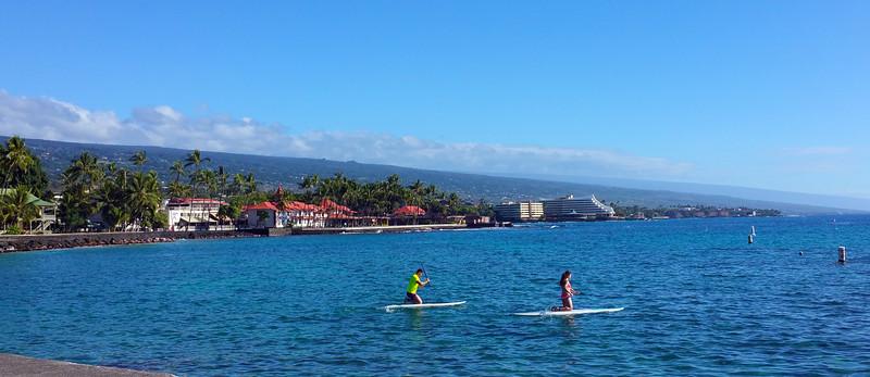 Hawaii, UnCruise Adventures, Kona, Big Island, Panorama
