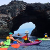Hawaii, UnCruise Adventures, Kayaking Sea Caves, Big Island Hawaii