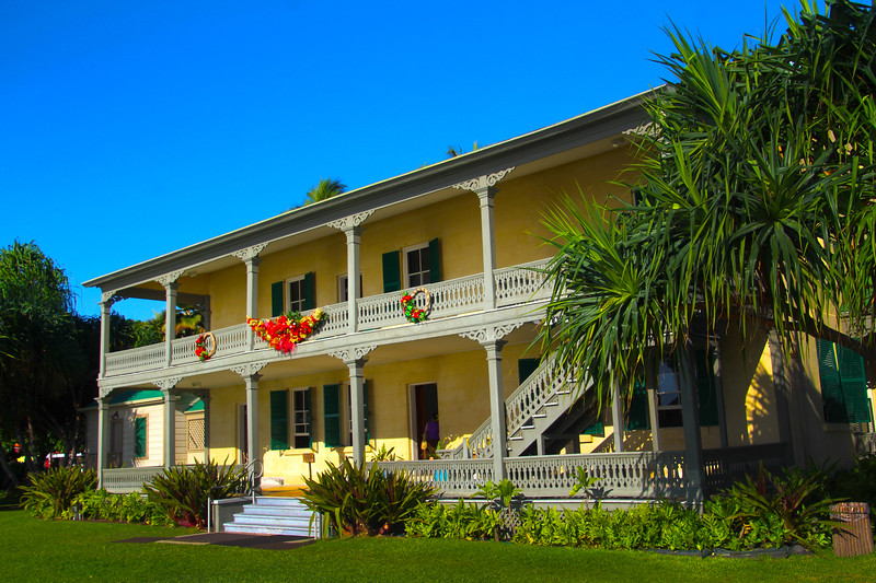 Hawaii, UnCruise Adventures, Hulihe'e Palace, Kailua Kona