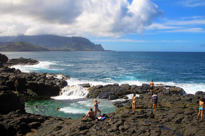 Hawaii, Kauai, Queens Bath