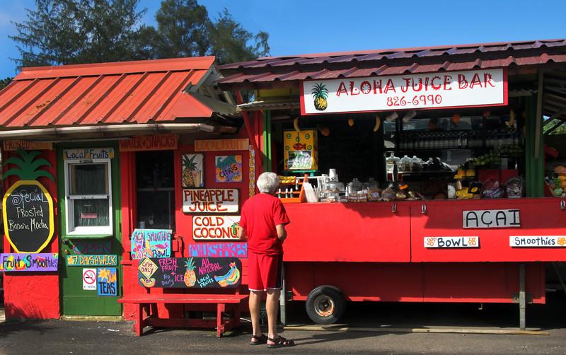 Hawaii, Kauai, Hanalei Town