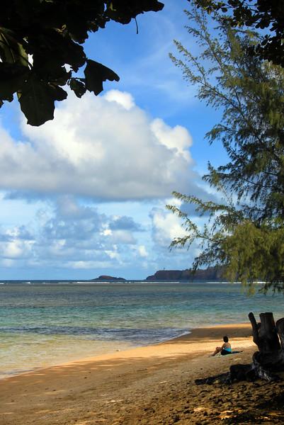 Hawaii, Kauai, Kauapea Secret Beach, North Shore