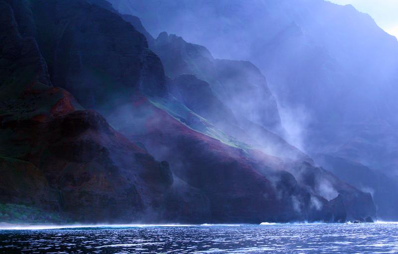 Hawaii, Kauai,  Na Pali Cliffs, Holo Holo Charters