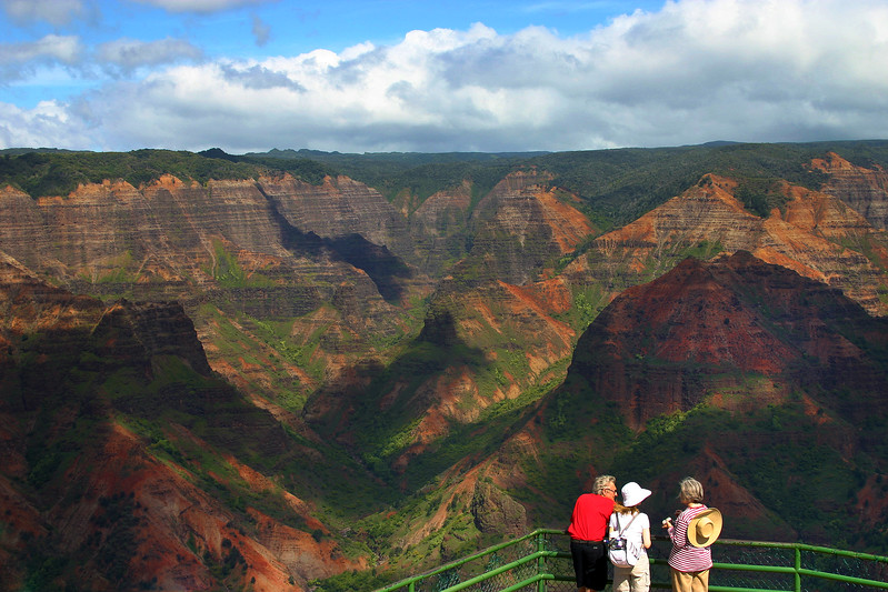 Hawaii, Kauai, Waimea Canyon Lookout