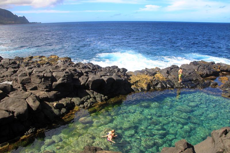 Hawaii, Kauai, Tide Pool, Queens Bath, North Shore