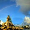 Hawaii, Kauai, Roman Fountain, Princeville