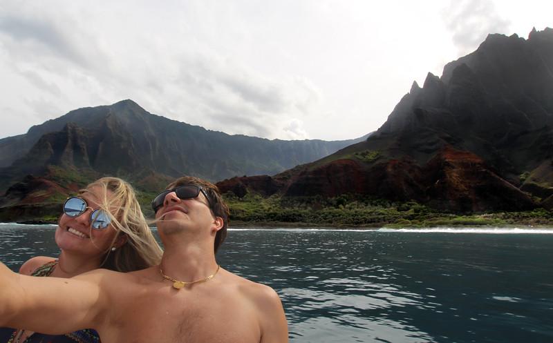 Hawaii, Kauai, Hola Hola Charters, Na Pali Coast Tour
