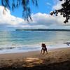 Hawaii, Kauai, Hanalei Bay Beach