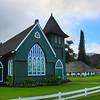 Hawaii, Kauai, Waioli Huiia Church, Hanalei