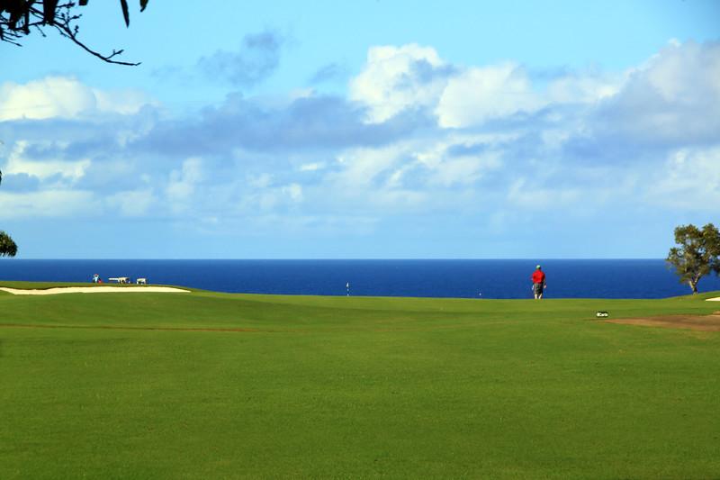 Hawaii, Kauai, Makai Golf Course, Princeville