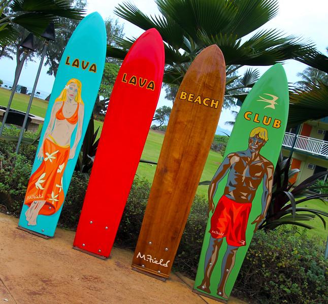 Hawaii, Kauai, Lava Lava Restaurant