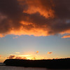 Hawaii, UnCruise Adventures, Sunset Clouds, Lanai