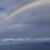 Hawaii, UnCruise Adventures, Rainbow over Safari Explorer