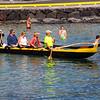 Hawaii, UnCruise Adventures, Cruise Passengers on Canoe, Kailua-Kona, Big Island