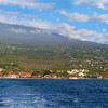 Hawaii, UnCruise Adventures, Kailua-Kona, Big Island Panorama