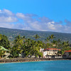 Hawaii, UnCruise Adventures, Shoreline Panorama, Kona, Big Island