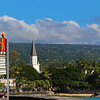 Hawaii, UnCruise Adventures, Ironman Triathlon Sign, Kailua-Kona, Big Island